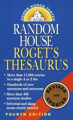 Random House Roget's Thesaurus By Random House (COR)
