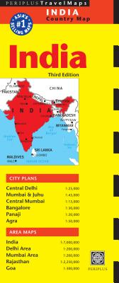 India Travel Map By Periplus (EDT)